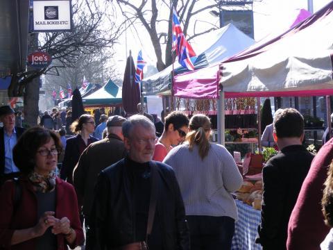 Summertown Market Stalls